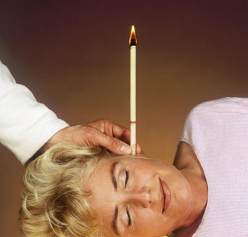 Wow, sounds like you benefitted from some of the holistic healing properties the ear candles boast 3